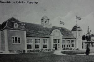 Concerthalle Neues Kurband, Foto: Heimatverein Bad Lippspringe